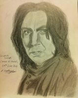 Alan Rickman by Gallagher92