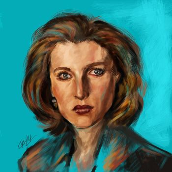 Scully by augustmonsoon