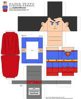 Paper Pezzy- Superman by CyberDrone