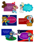 Mr. Driller V-card set by Axl-fox