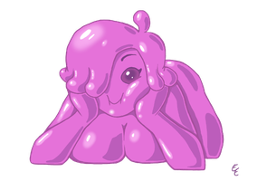 Slime Girl by mithol