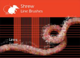 Shrew Lines and Tinsle by ArtyShrew