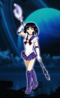Sailor Saturn by DashiSchwarzung