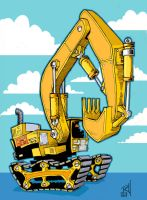 Excavator by ponch414