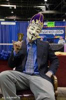 ACEN 2012 - Me as Anon, being classy by Havoc-The-Tenrec