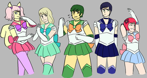 But Wait, There's More Sailors by agentchimendez