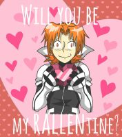 Be My Rallentine by JammyScribbler