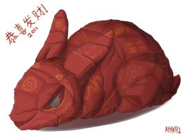 Red Packet Rabbit by ayyk92