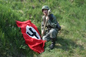 Panzerfaust and flag by SPIDIvonMARDER