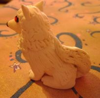 Ghost the Direwolf by delicioustrifle