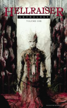 Hellraiser anthology - cover by Daniele-Serra