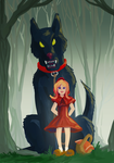 Little Red Riding Hood by Mercvtio