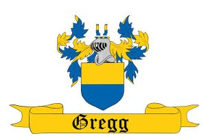 Gregg Family Coat of Arms by Paranormallity