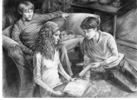 Harry Potter Half Blood Prince by JennyTaravosh