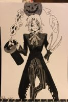 Allen walker manga style by martha1101