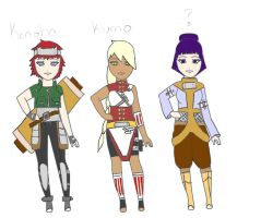 Mixed Naruto Adoptables: One Left by Almost---There