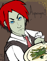 Asparagus? by twistyness