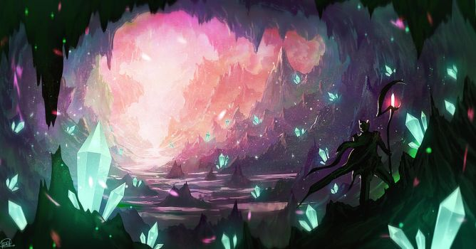 Crystal Cave 2 (video) by iDaisan