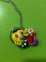 Alice in Wonderland pendat model 2 by anapeig