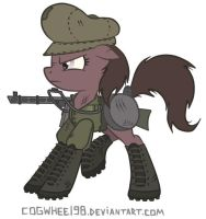 Armed Altydia Coggydeer by Ponyarchuk