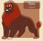 Njau -TLK OC- by WulverCazz