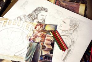 The Hobbit - WIP by Alena-Koshkar