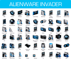 Alienware Invader Iconpack Installer for Win8/8.1 by UltimateDesktops