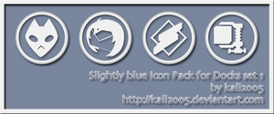 Slightly Blue Icon Pack by kali2005