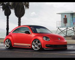 Volkswagen Beetle. by daveezdesign