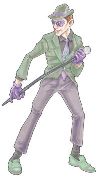 BtAS: the Riddler by michaelboarts