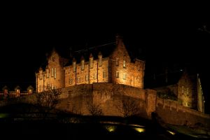 Palace Edinburgh Night Color by jmotes