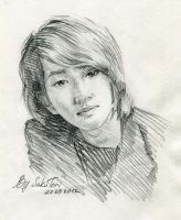 Onew of SHINee by SakuTori