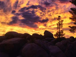 Sunset at Chimney Beach by MartinGollery