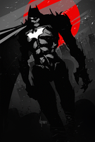 Batman by V-nom