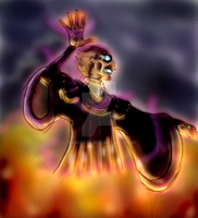 Frollo Ghost (Luminated Colored Concept Art) by yami0815