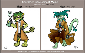 Character Development Meme by Mew-tew