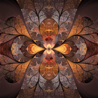 Stained Glass - Autumn by Trente