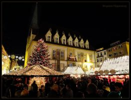 Christmas market by Ingelore