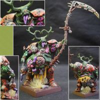 Herald of Nurgle with Scythe by Taelonar