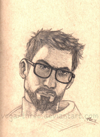 Gordon Freeman by Vega-Three