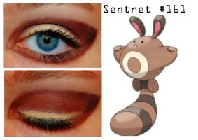 Pokemakeup 161 Sentret by nazzara