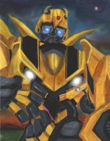 My Guardian Bumblebee by Bumblesz