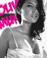 Olivia Munn Poster by Robot7even
