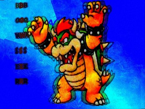 the king of koopas :bowser by disneylouis