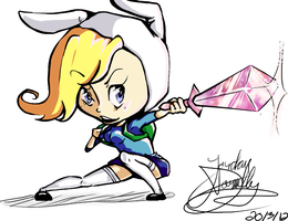 Fionna Coloured by jojo263