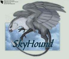 Skyhound - FB Badge by Ulario