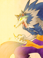 The MvC2 Portraits! - Gallon/Jon Talbain by kaiserkleylson