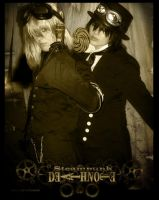 Steampunk DeathNote: L Mello by Maru-Light