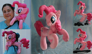 Shoulder Rider Pinkie by SirDragonLance