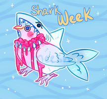 shark bite cookie dove auction -closed by xAerisx